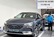 현대차 '넥쏘', 친환경 수소전기차 시장 쾌속질주