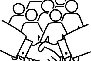 자본과 노동의 협동에 기립박수